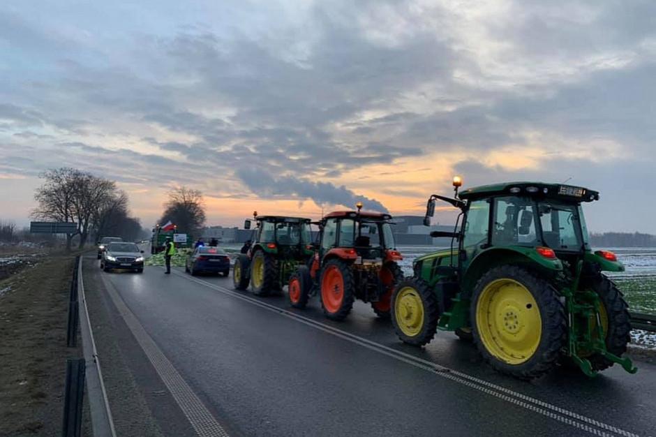 Protesty rolników: Blokada dróg i utrudnienia w ruchu
