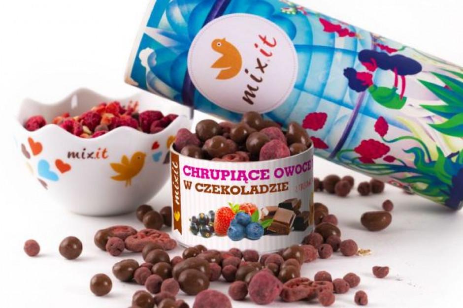 Owoce oblane czekoladą na Walentynki od Mixit.pl