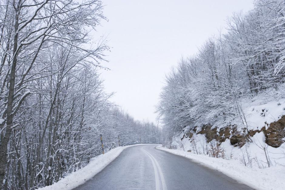 GDDKiA: Drogi krajowe przejezdne. Lokalnie śnieg i mgła