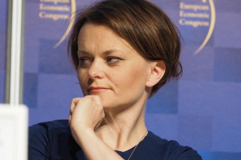 Minister Emilewicz: wzrost gospodarczy w Polsce jednym z najlepszych w Europie
