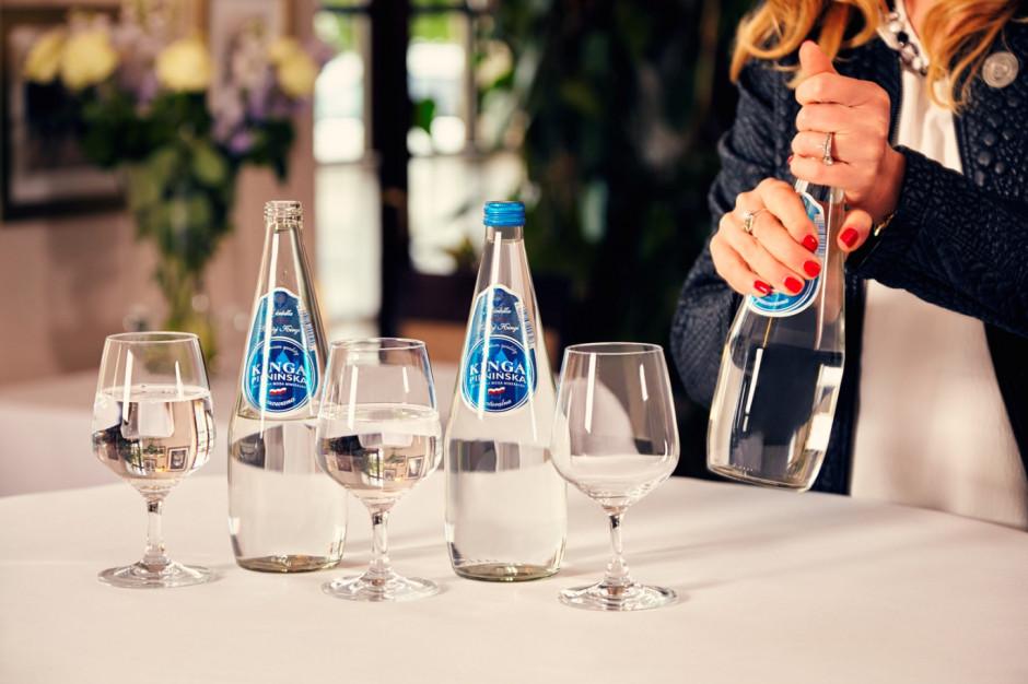 Woda popularna także w gastronomii