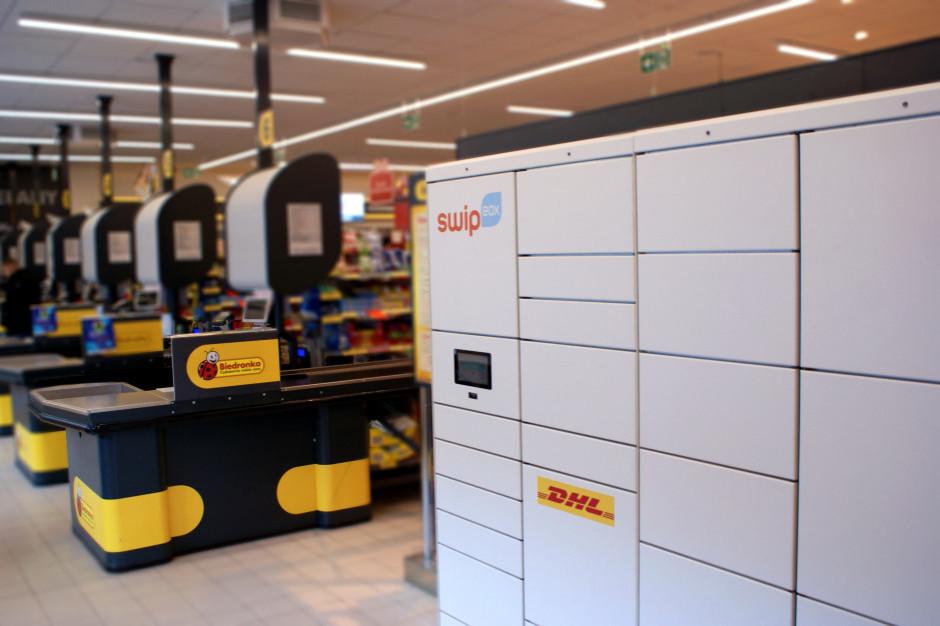 Automaty SwipBox w 200 Biedronkach. Do końca roku będzie ich 1000