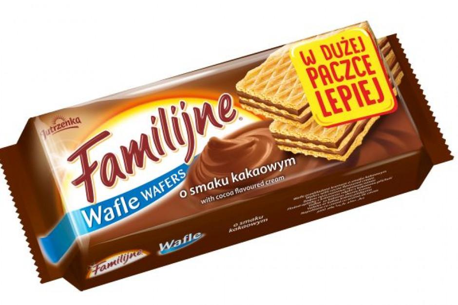 Colian wprowadza na rynek edycję limitowaną wafli Jutrzenka Familijne XXL