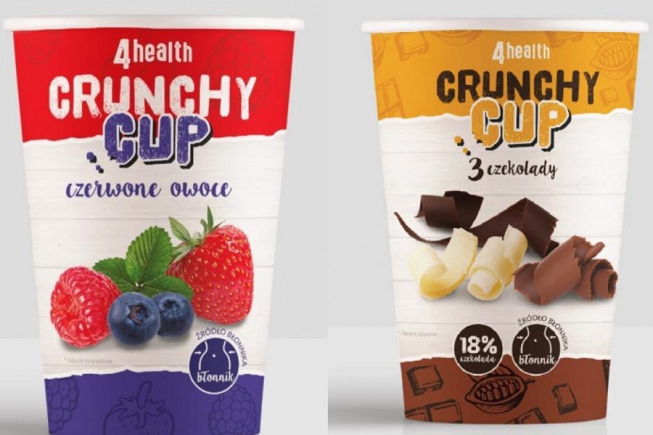 4health wprowadza Musli Crunchy Cup w dwóch smakach