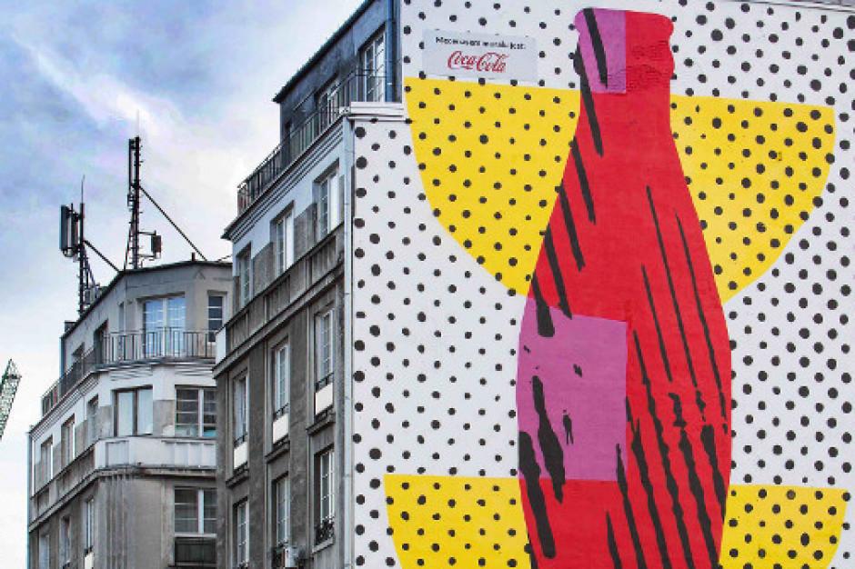 Coca-Cola ma swój mural na warszawskiej Pradze