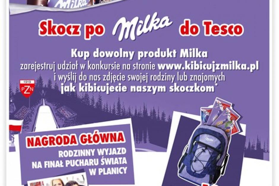 """Milka startuje z konkursem konsumenckim """"Skocz po Milka do Tesco"""""""