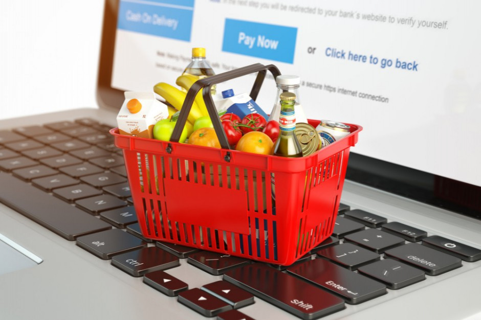 W ciągu pięciu lat sprzedaż żywności przez internet wzrośnie o połowę