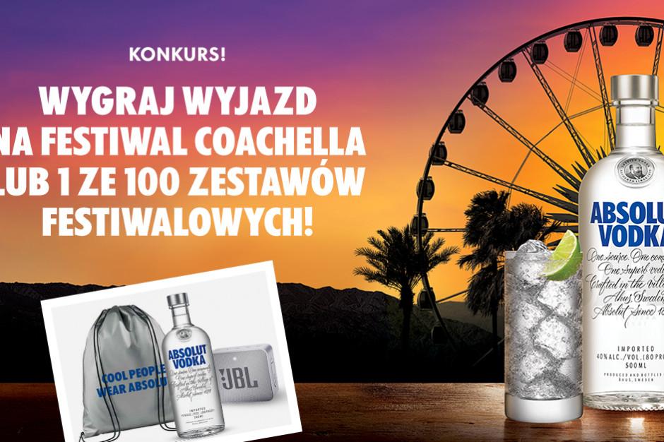 Absolut wystartował z kolejnym konkursem – do wygrania bilety na Coachella Festival 2019