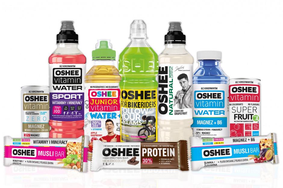 Oshee: 90% produktów wolnych od sztucznych barwników i aromatów