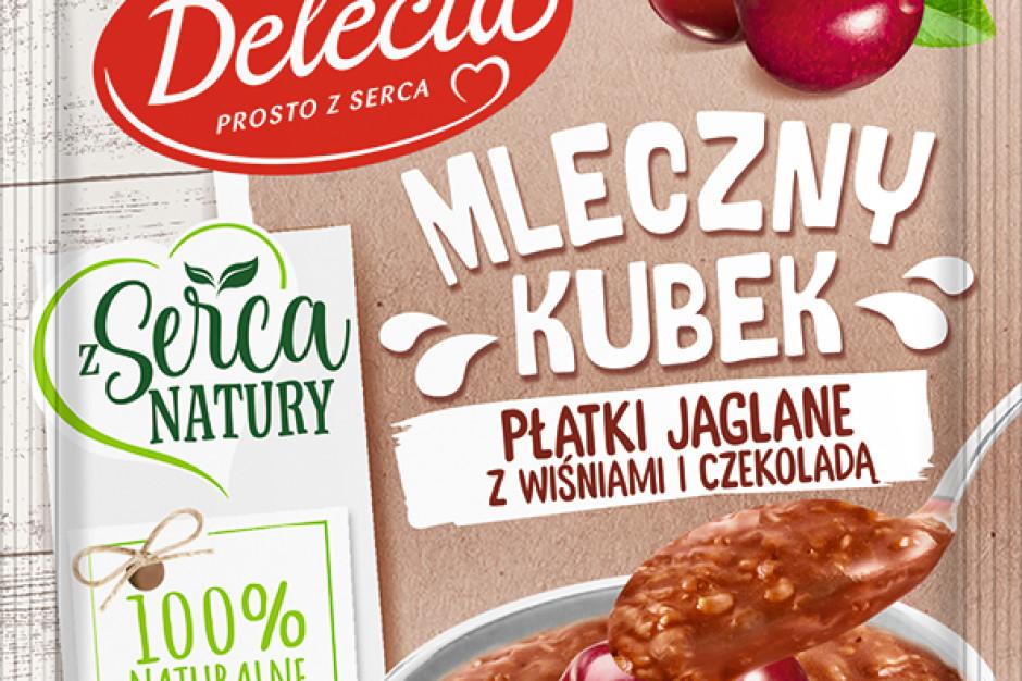 Delecta poszerza ofertę produktów do pieczenia oraz przekąsek instant
