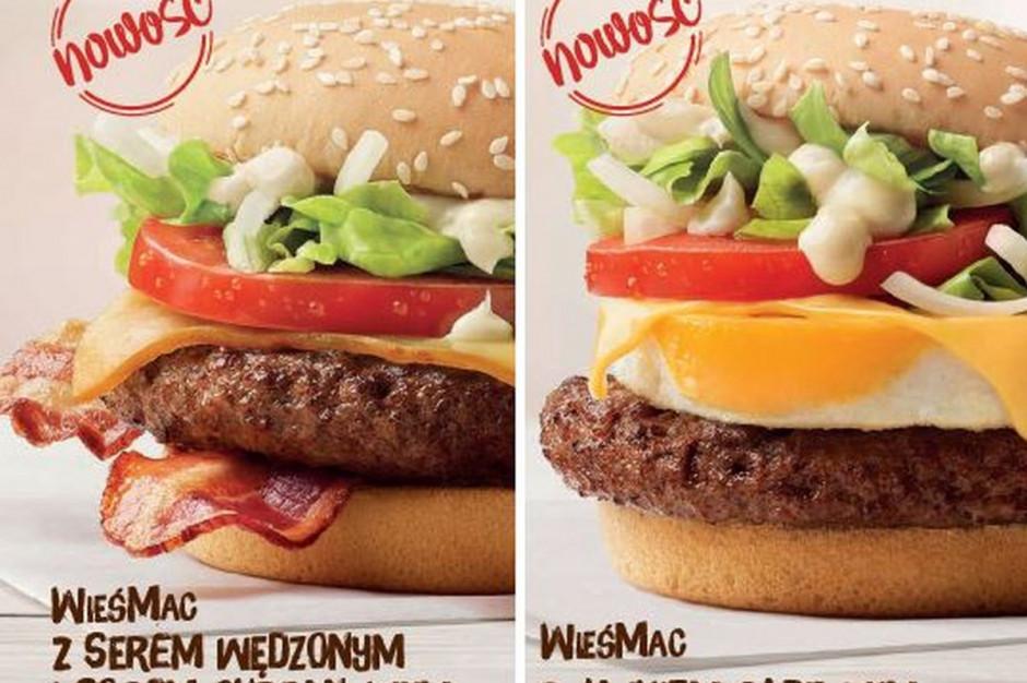 McDonald's wprowadza dwie nowe wersje WieśMaca