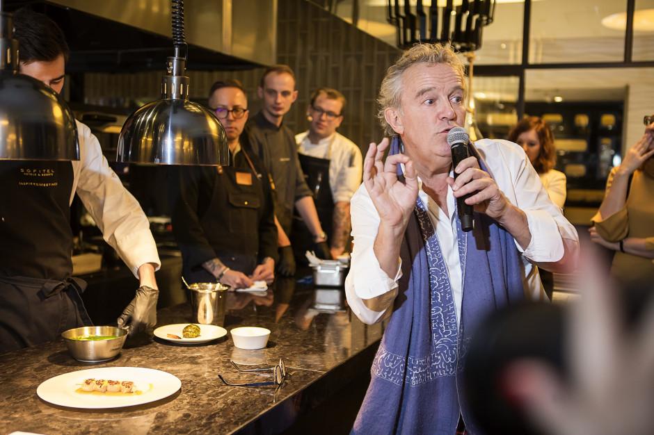 Alain Passard, szef kuchni z trzema gwiazdkami Michelin, na Gali Francusko-Polskiej Izby Gospodarczej (galeria)