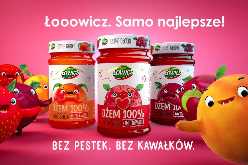 Łowicz startuje z kampanią dżemów Extra Gładkich