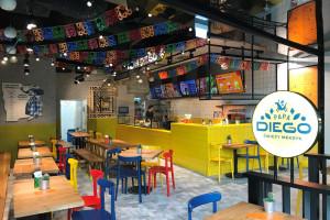 Papa Diego startuje z pierwszym lokalem restauracyjnym
