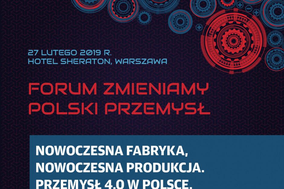 O przeobrażeniach i perspektywach polskiej gospodarki na Forum Zmieniamy Polski Przemysł