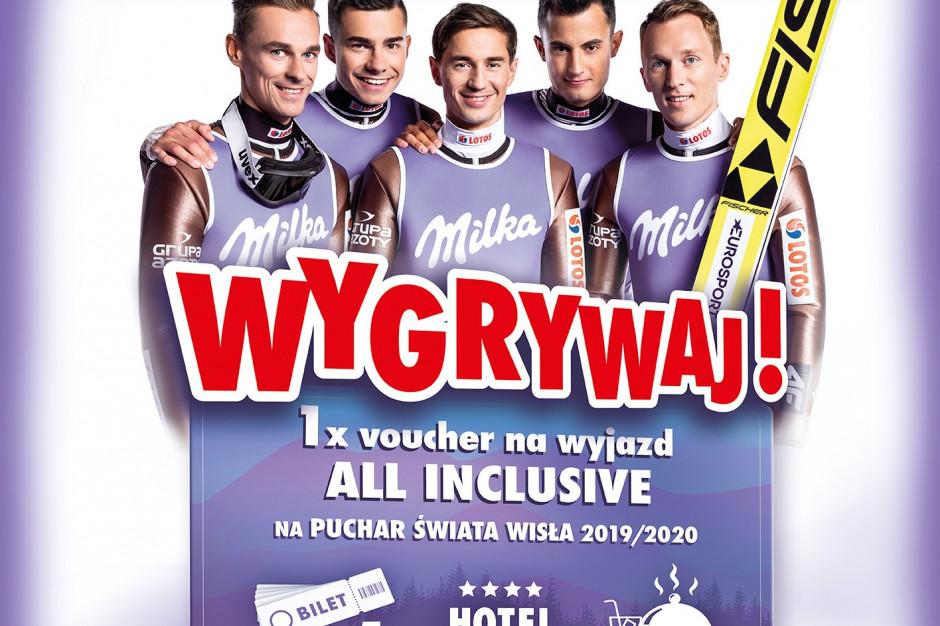 """Milka przygotowała loterię konsumencką w ramach kampanii """"Milka. Sercem z Naszymi"""""""