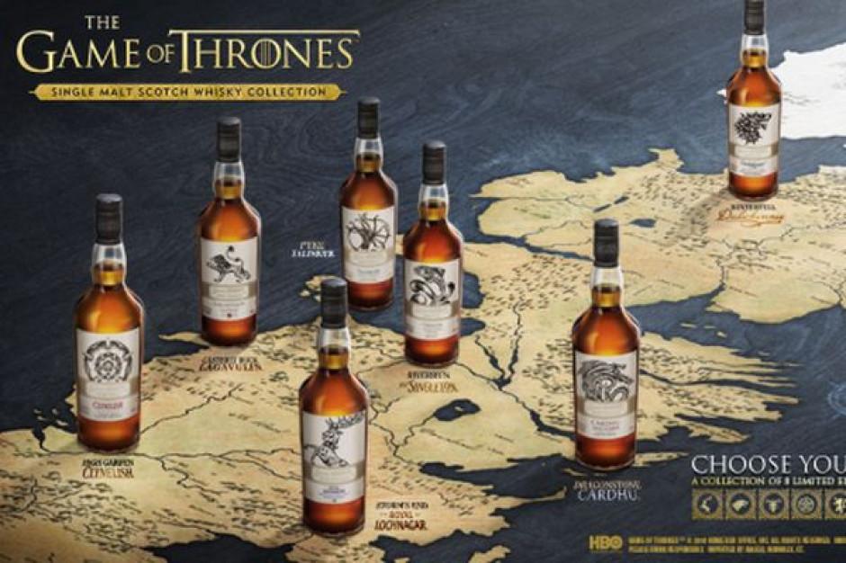 Diageo we współpracy z HBO wprowadza limitowaną kolekcję scotch whisky single malt Gra o Tron