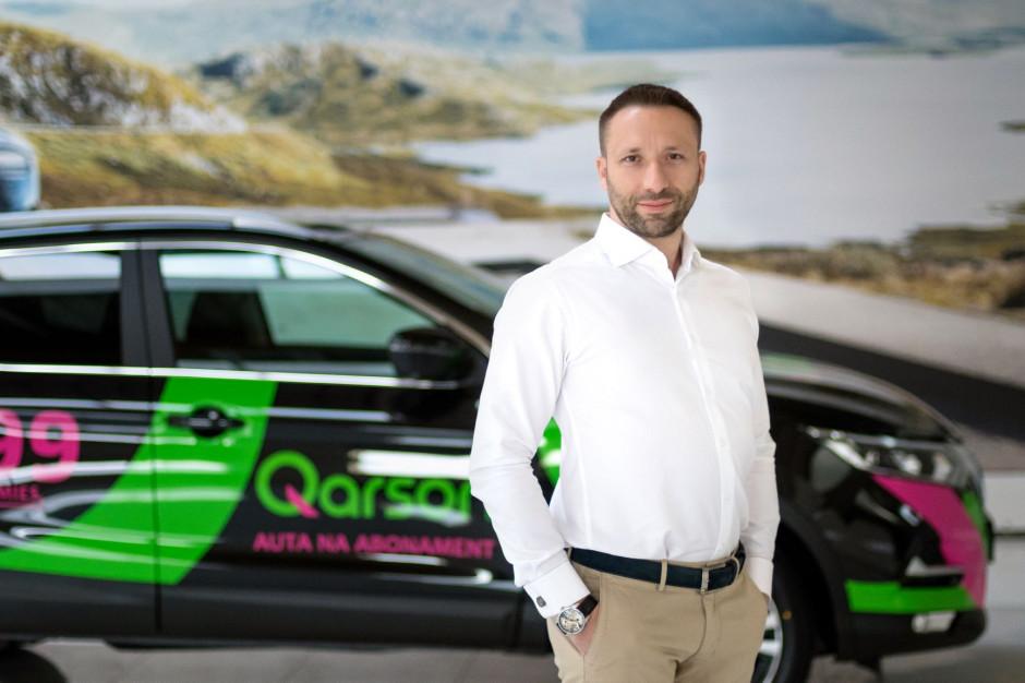 Qarson wprowadza w Polsce nowy model sprzedaży aut na abonament przez internet i w centrach handlowych