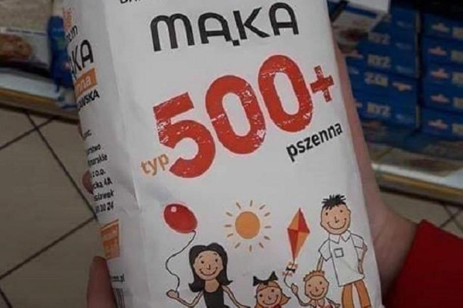Młyn z Wielkopolski produkuje mąkę pod marką 500+