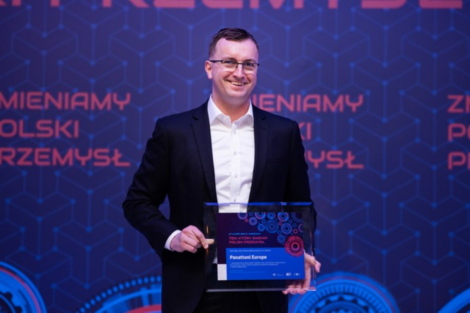 Panattoni Europe zmienia polski przemysł - nagroda PTWP SA