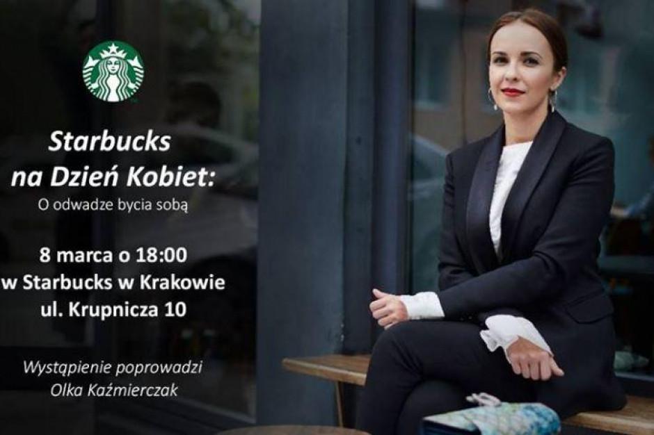 Starbucks na Dzień Kobiet przeprowadzi Power Speech