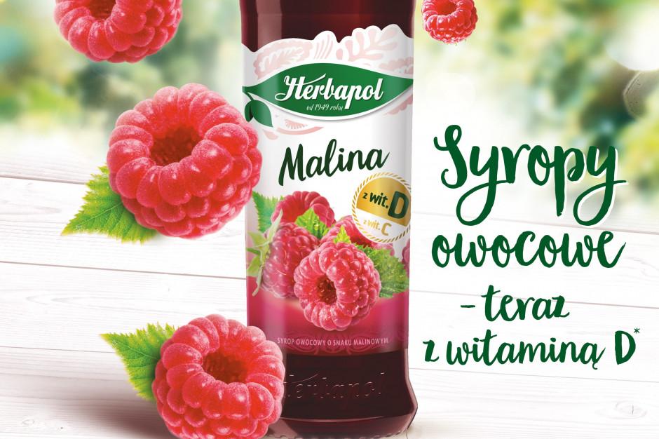 Syropy Herbapol-Lublin w nowej formule z witaminą D