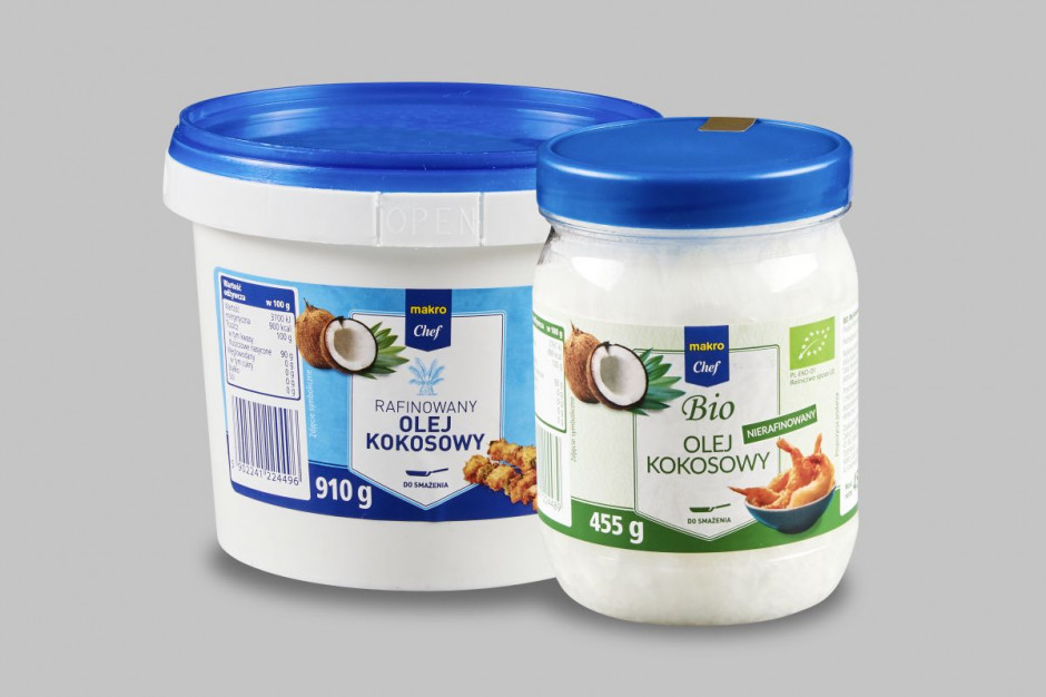 Makro Polska wprowadza do sprzedaży olej kokosowy