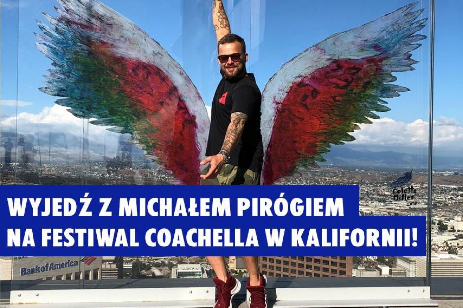Absolut wspólnie z Michałem Pirógiem zaprasza na festiwal Coachella