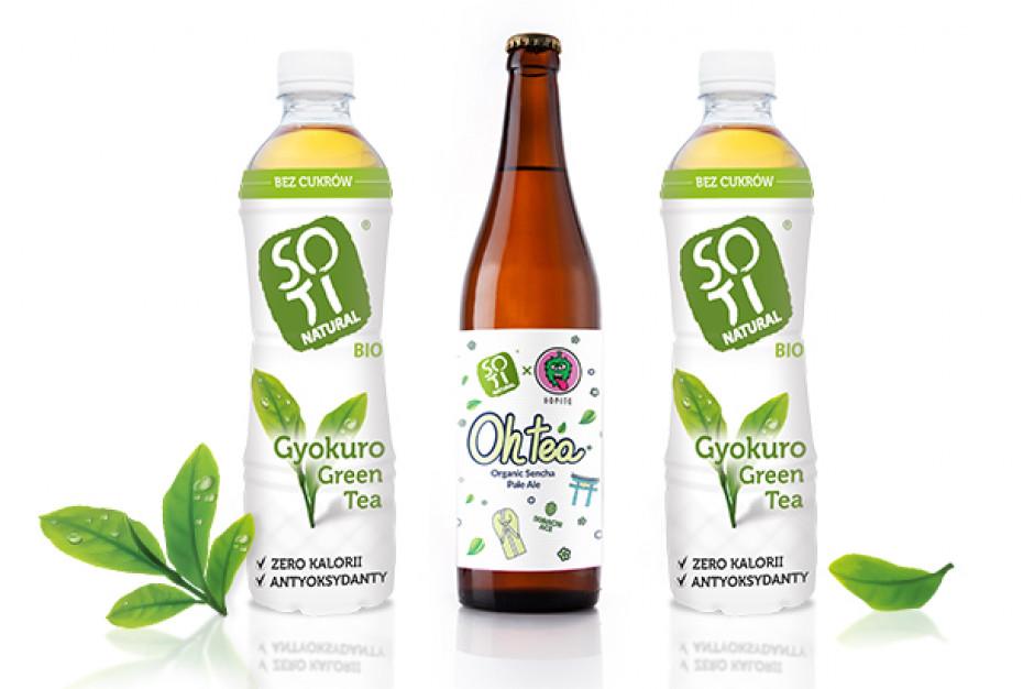 Producent herbat Soti Natural kooperuje z browarem Hopito