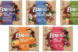 Bakalland wprowadza na rynek słodką przekąskę BA!rdzo Bakaliowe Tabliczki