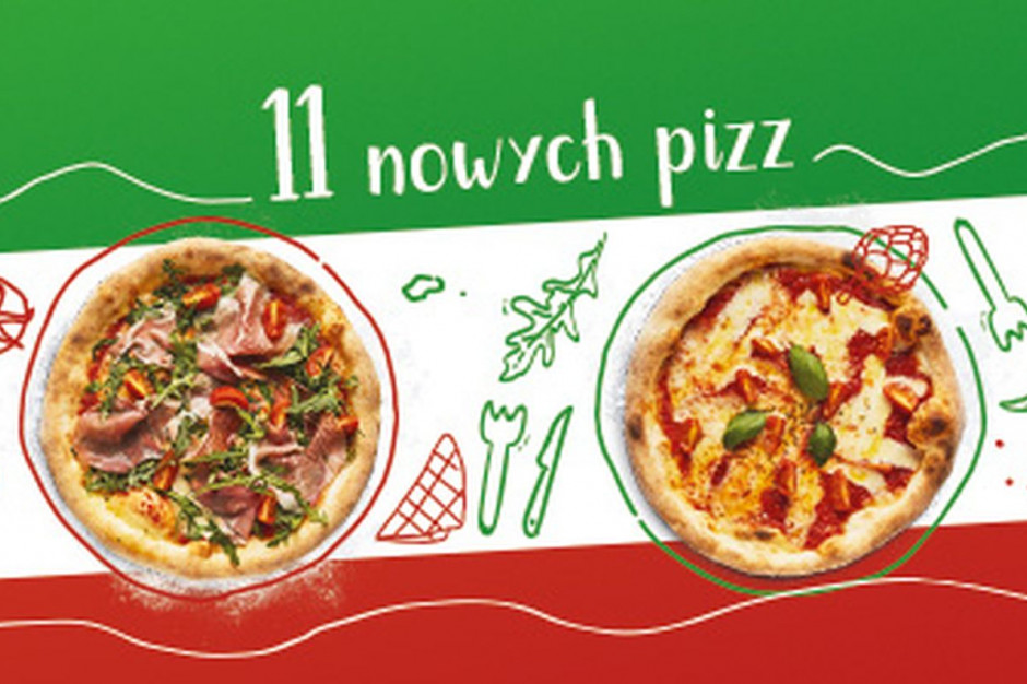 Pizza Rzymska – 11 nowych pizz w Pizza Dominium