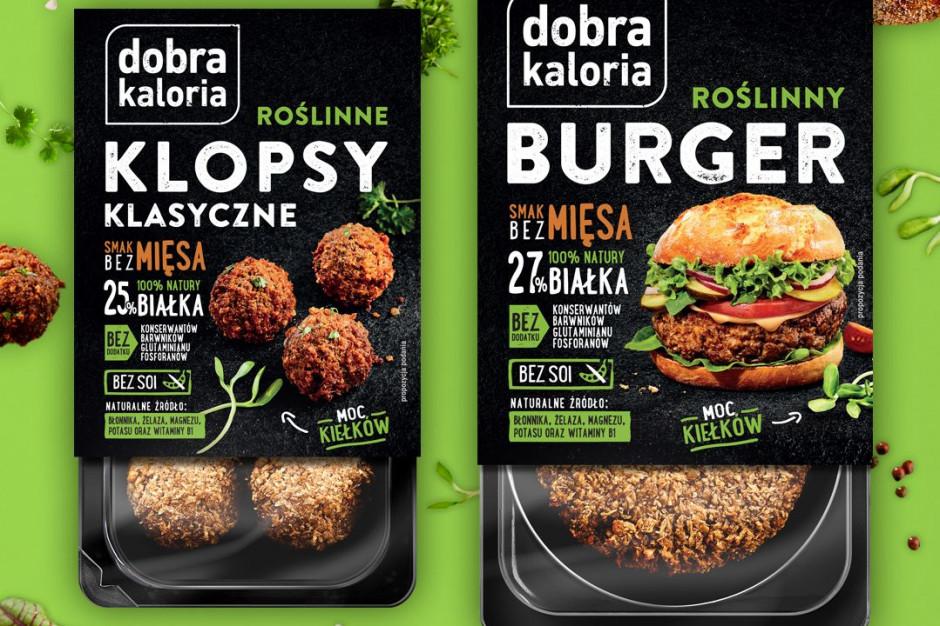 Marka Dobra Kaloria wprowadza roślinne zmienniki mięsa na bazie kiełków słonecznika