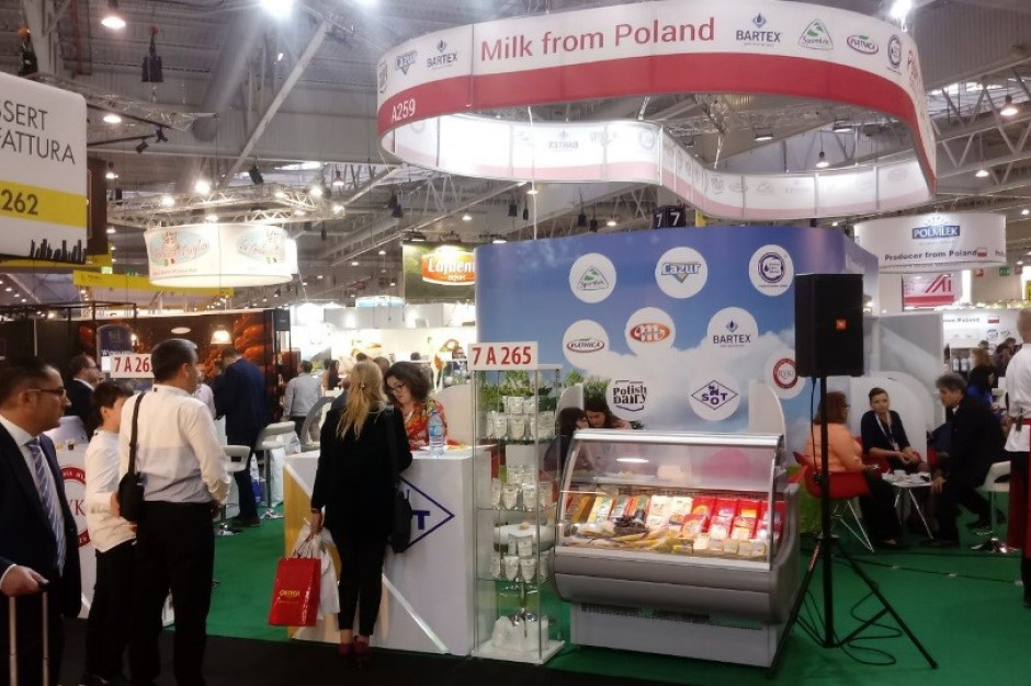 Polskie firmy mleczarskie zaprezentują się na Targach SIAL 2019