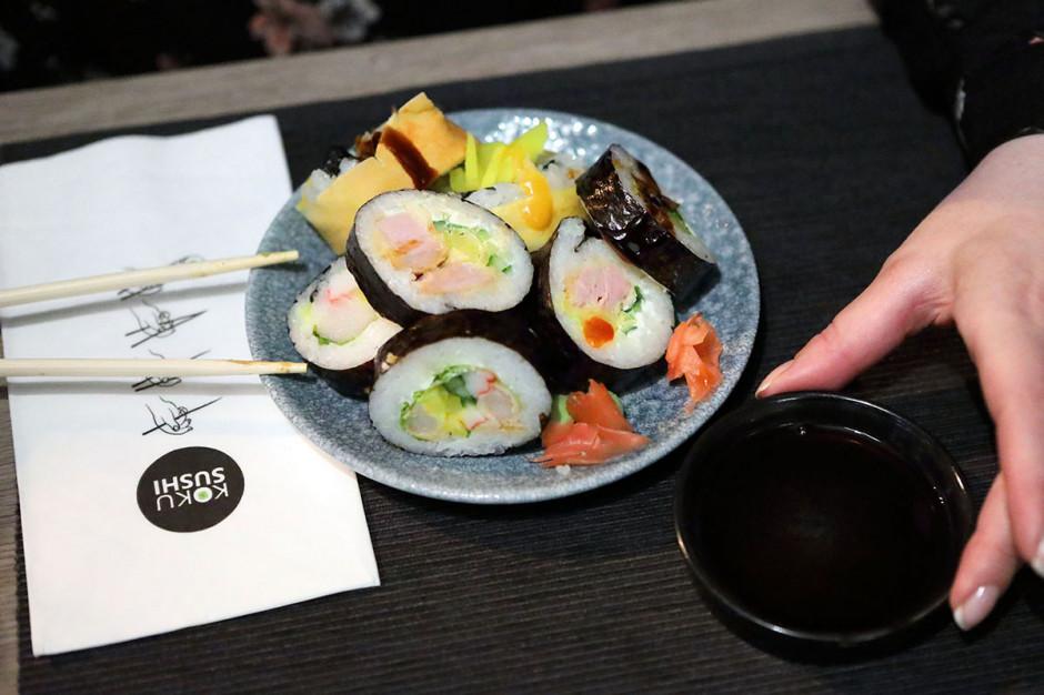 Sieć KOKU Sushi powiększyła się o dwa nowe punkty