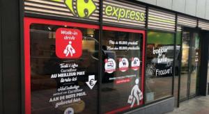 Miejski punkt odbioru Carrefoura ruszył w Brukseli