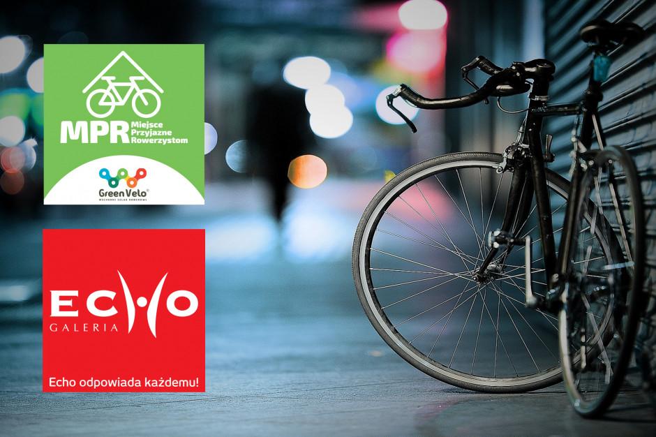 Galeria Echo pierwszym obiektem handlowym w Polsce z certyfikatem Miejsca Przyjaznego Rowerzystom