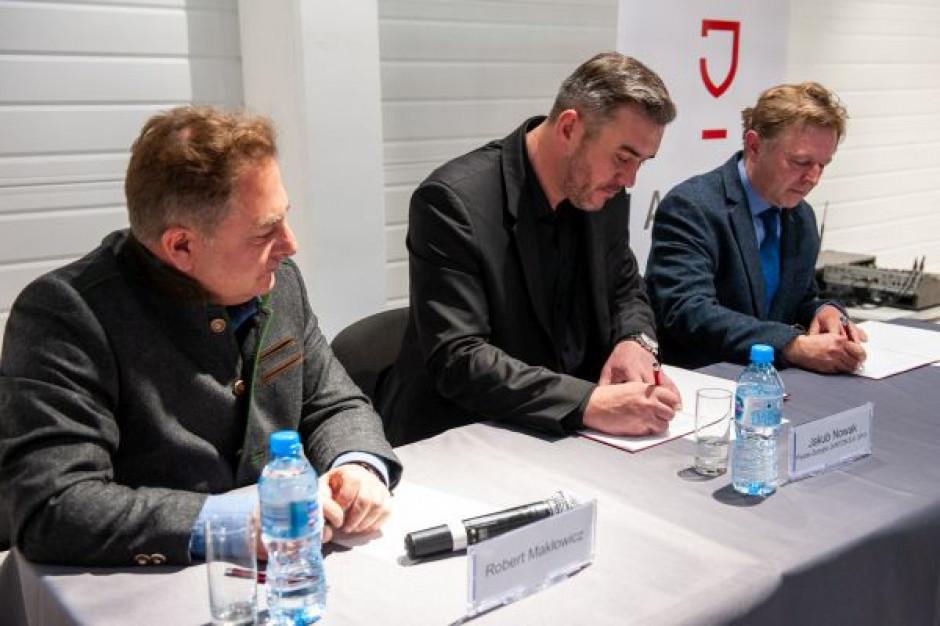 Jantoń i Wino Makłowicz podpisały umowę z polską winnicą na dostawy win do HoReCa