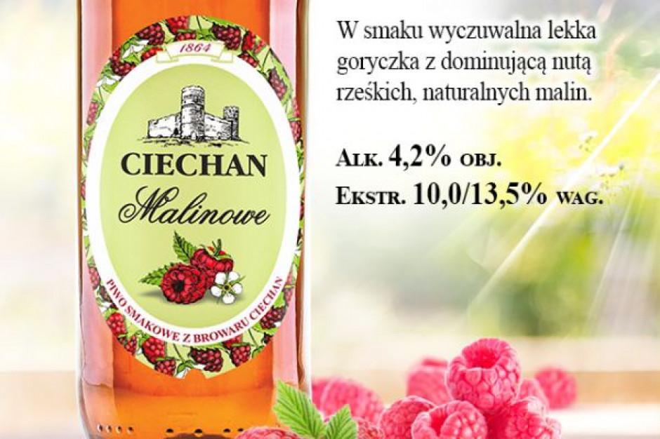 Browar Ciechan wprowadza nowe piwo smakowe Ciechan Malinowe