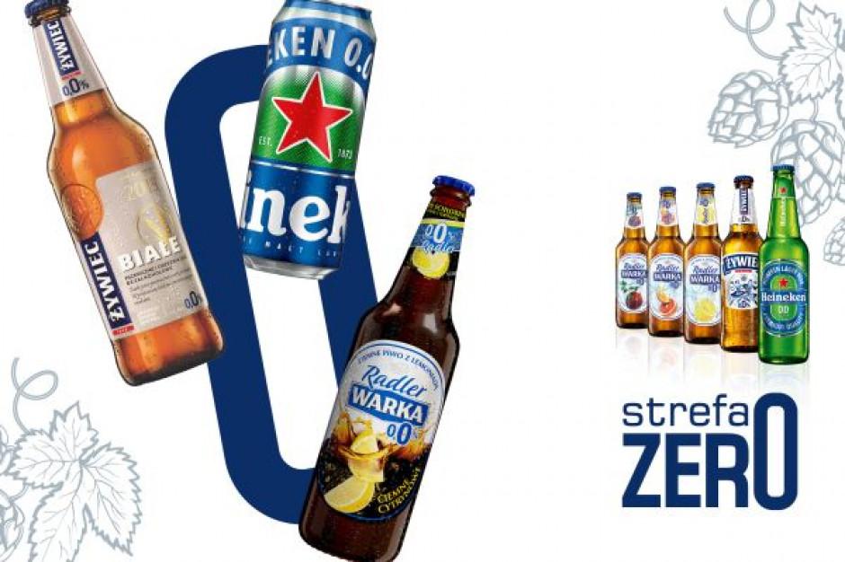 Grupa Żywiec wierzy w rozwój segmentu piw bezalkoholowych i rozwija Strefę Zero
