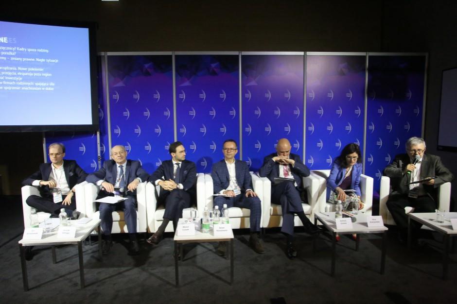 O firmach rodzinnych i sukcesji na Europejskim Kongresie Gospodarczym