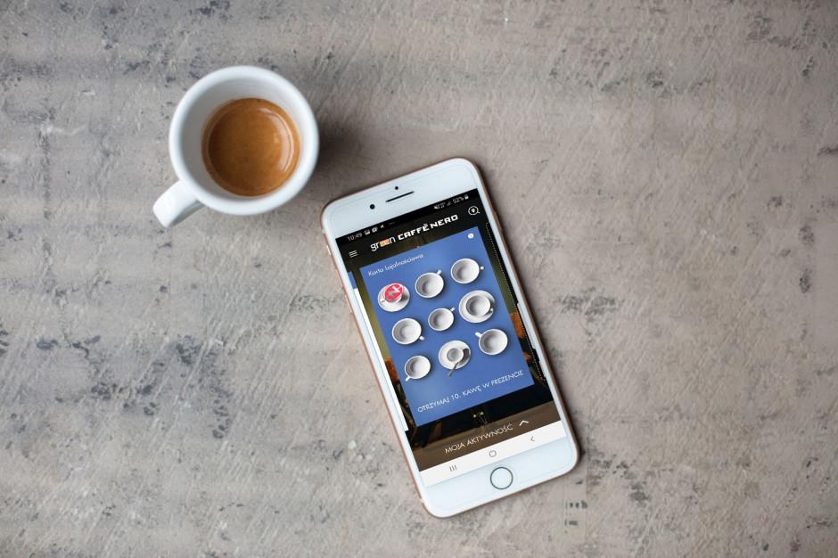 Green Caffè Nero wprowadza nową aplikację lojalnościową i płatniczą