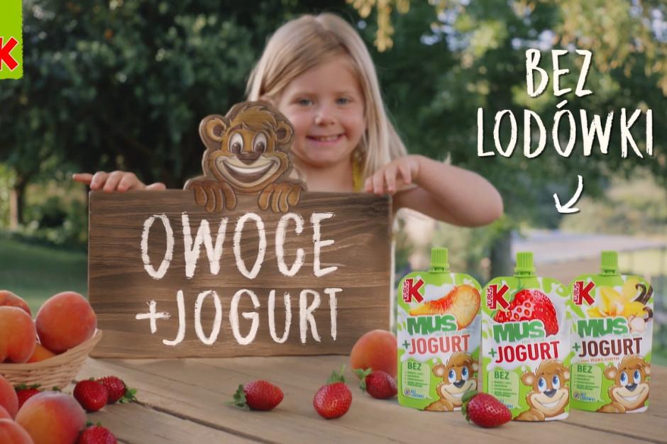 Kubuś w nowej wersji: Mus + Jogurt
