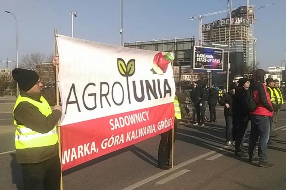 W Warszawie od rana manifestacja rolników z AGROunii
