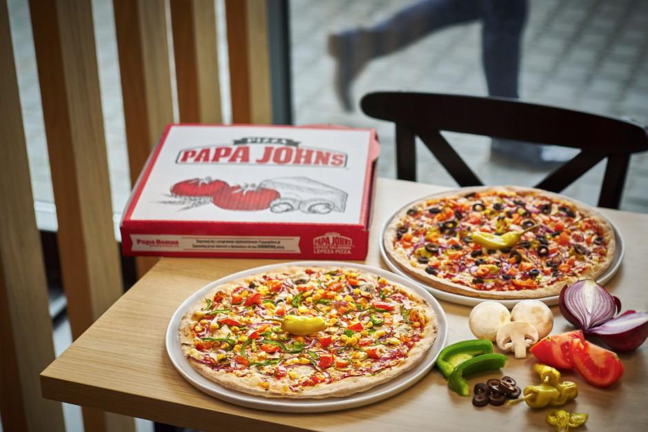 Papa John's wprowadza wegańską pizzę