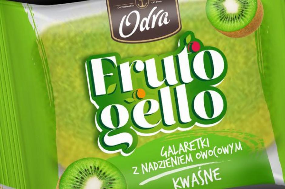 Marka Odra z trzema nowymi smakami galaretek Frutogello