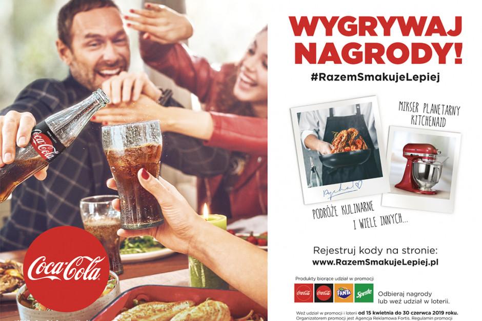 """Coca-Cola rusza z nową edycją kampanii """"Razem smakuje lepiej"""""""
