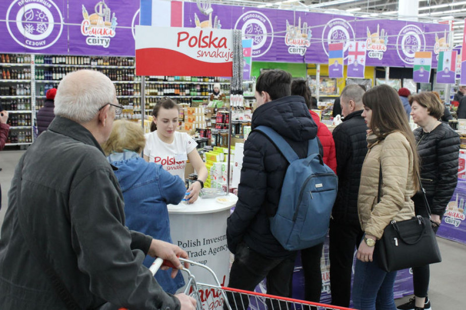 PAIH: W ukraińskich hipermarketach odbyła się promocja polskiej żywności