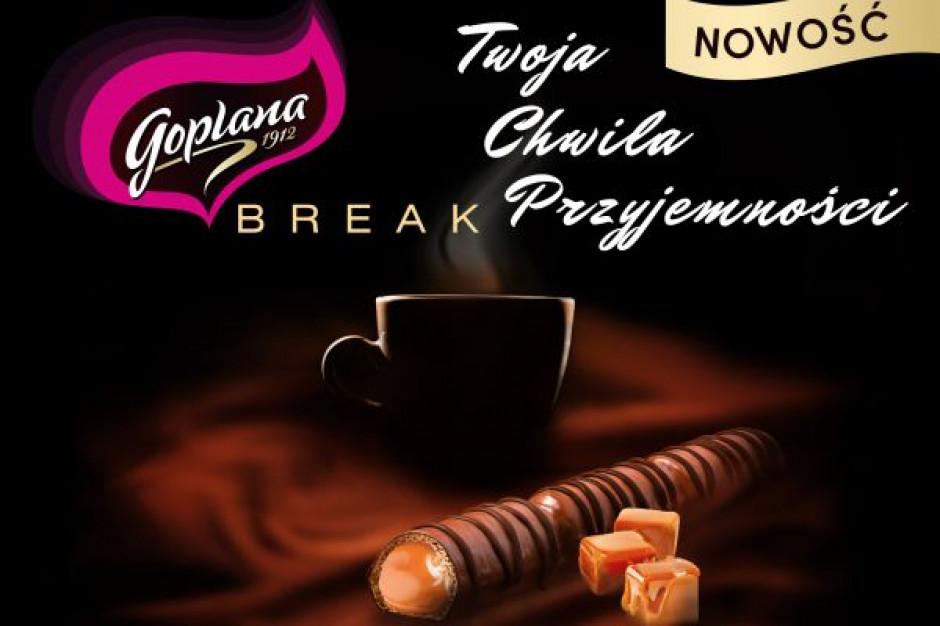 Batoniki Goplana Break z silnym wsparciem reklamowym