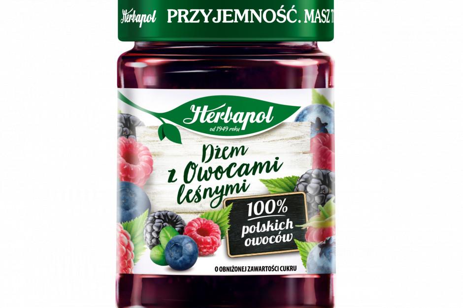Dżem z Owocami leśnymi - wiosenna nowość od marki Herbapol