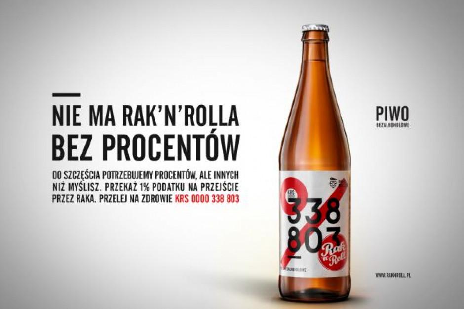 """Piwo KRS 0000 338 803 browaru Inne Beczki w Rak'n'Rollowej kampanii """"Pijani życiem"""""""